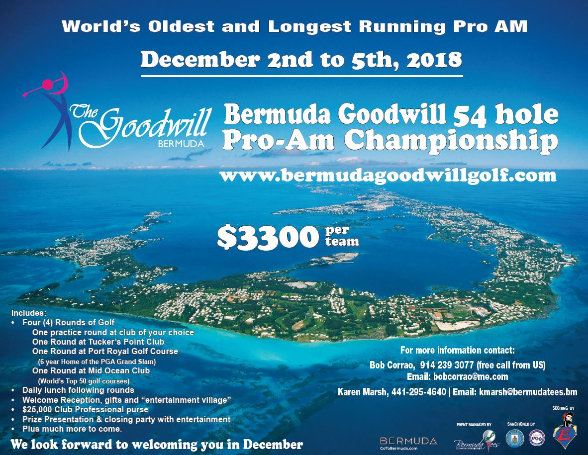 Bermuda Goodwill 2018 Flyer